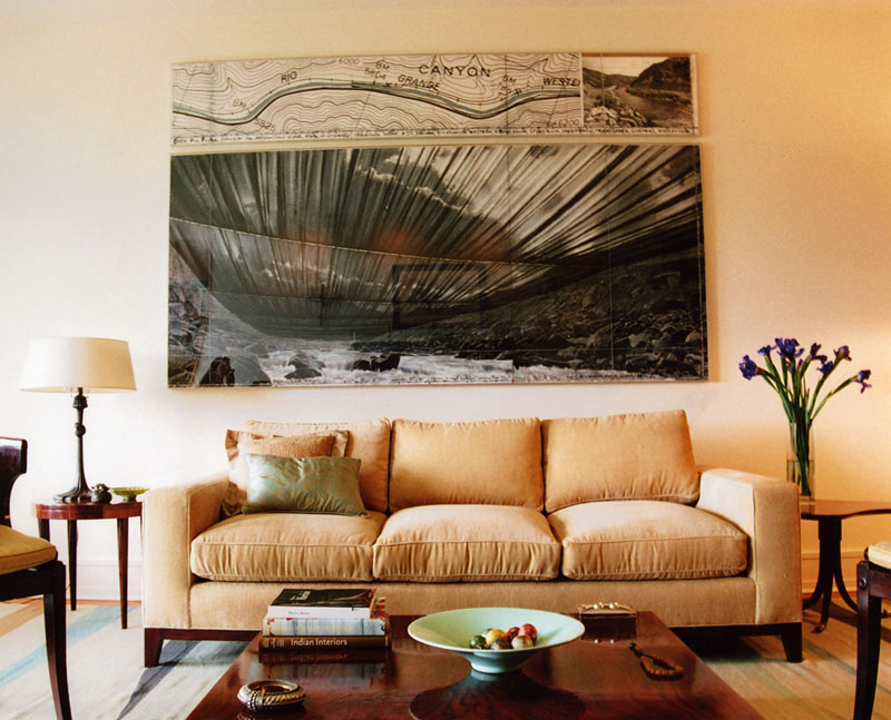 Central Park West - Apartment Couch and Painting