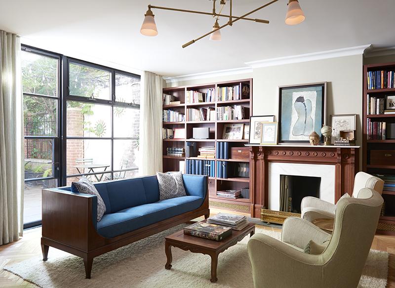 Park Slope Brownstone Living Room 2
