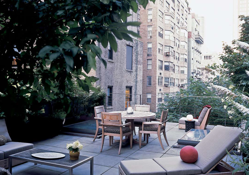 Park Avenue Penthouse Outdoor Living Space