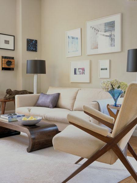 Upper West Side Apartment Living Room 2