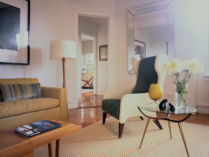 Upper West Side Apartment Living Room