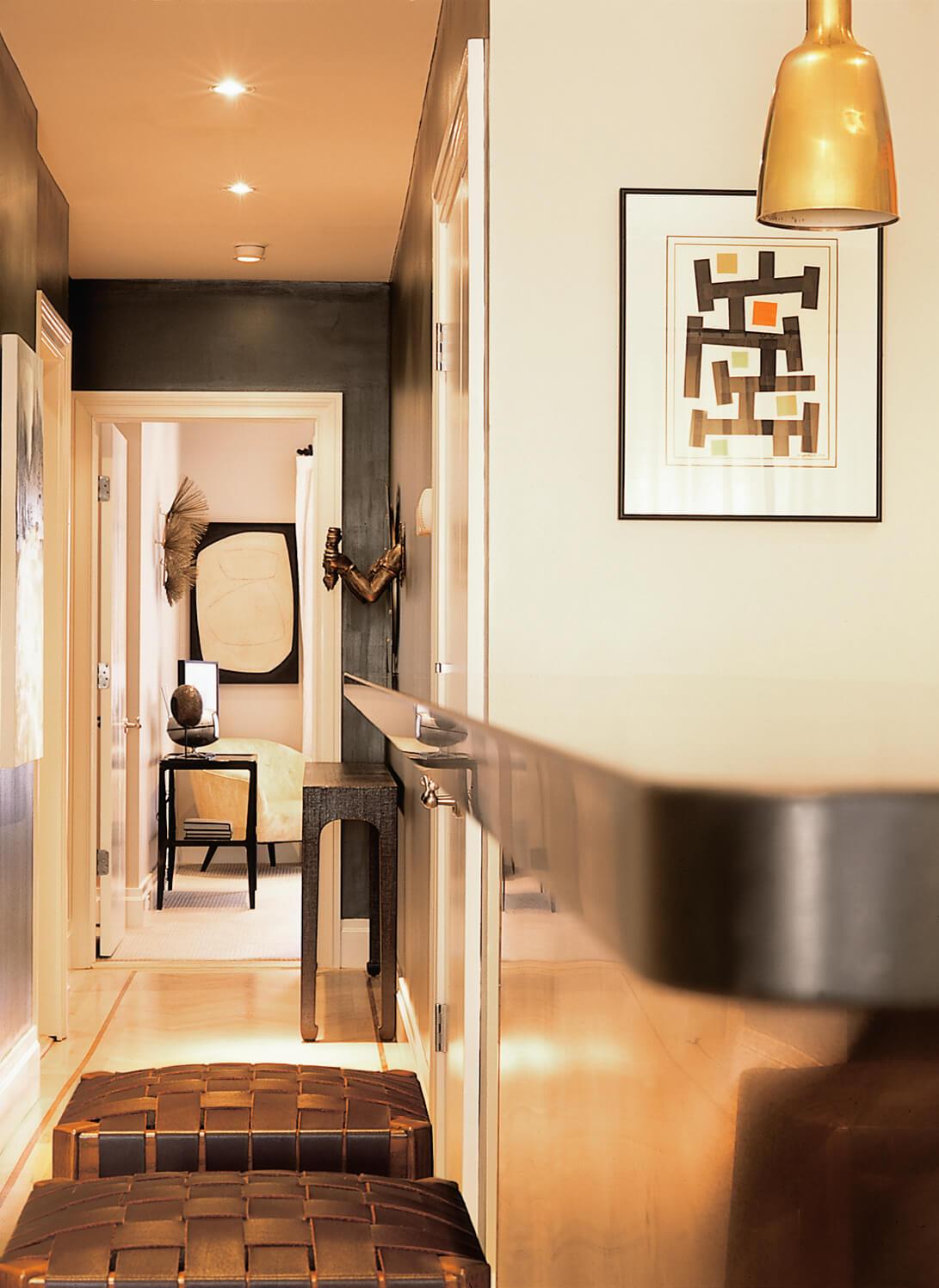 Park Avenue Penthouse Hallway