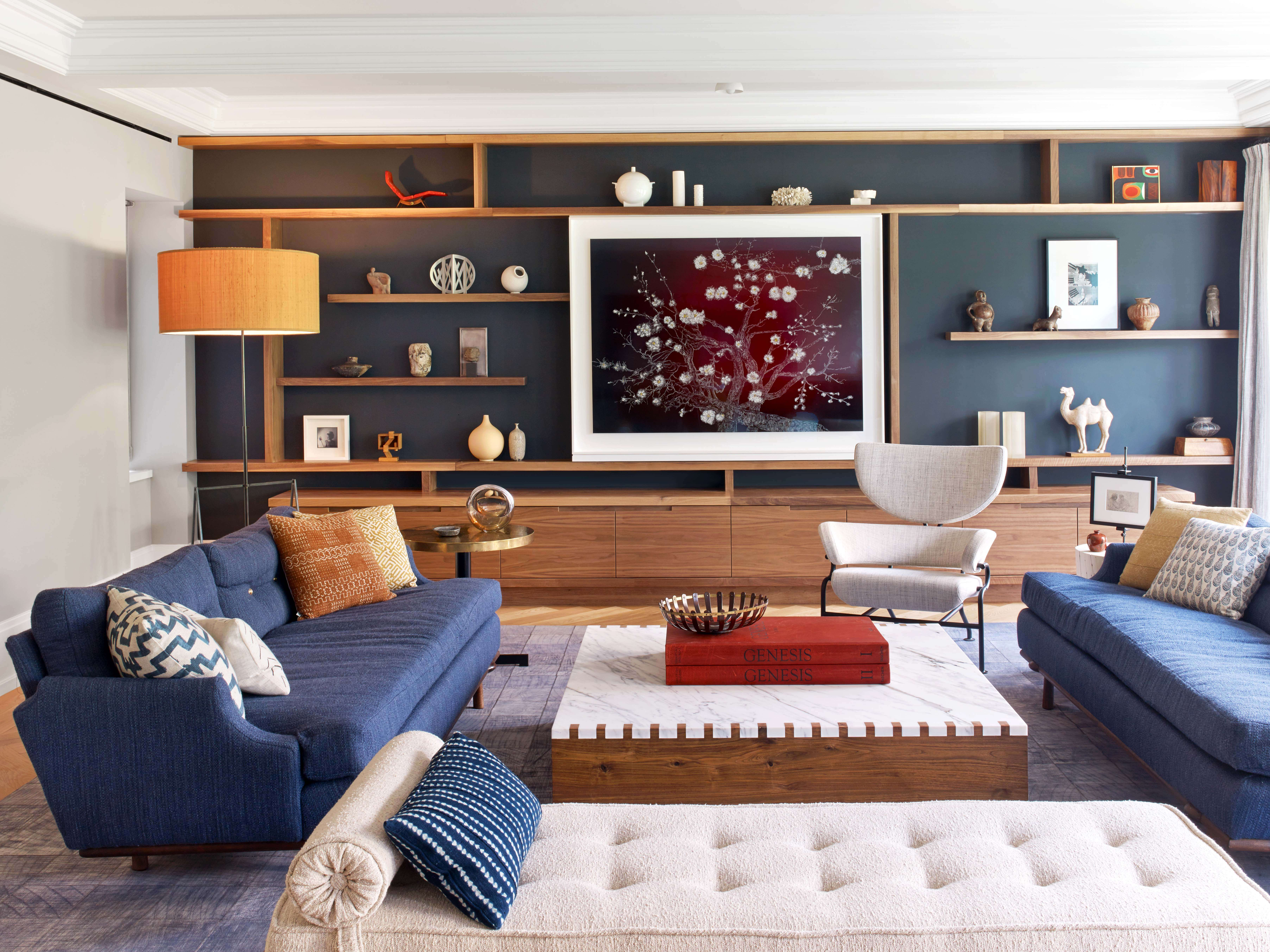 West 82nd Street Living Room