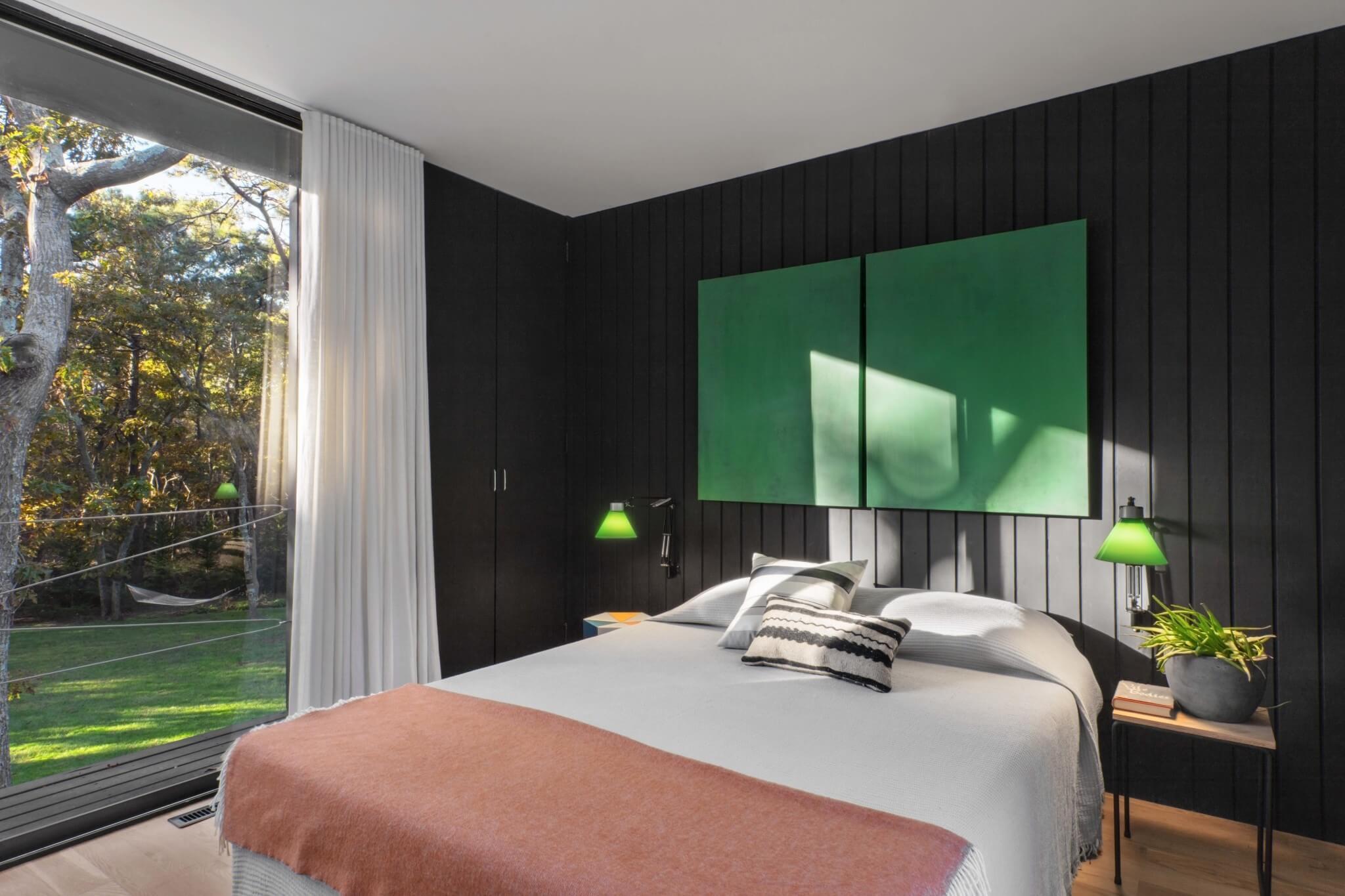East Hampton House Bedroom