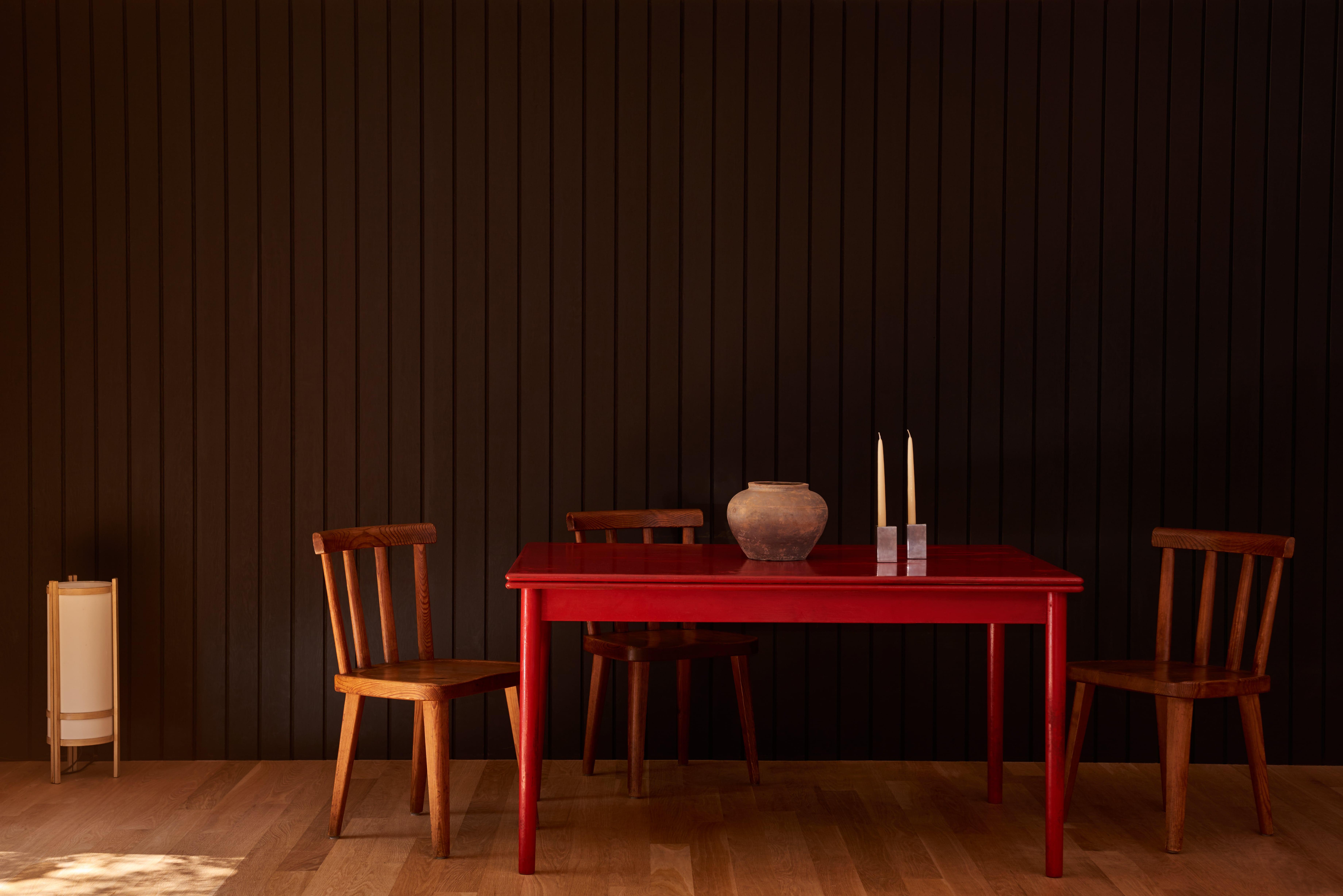 East Hampton House Red Table