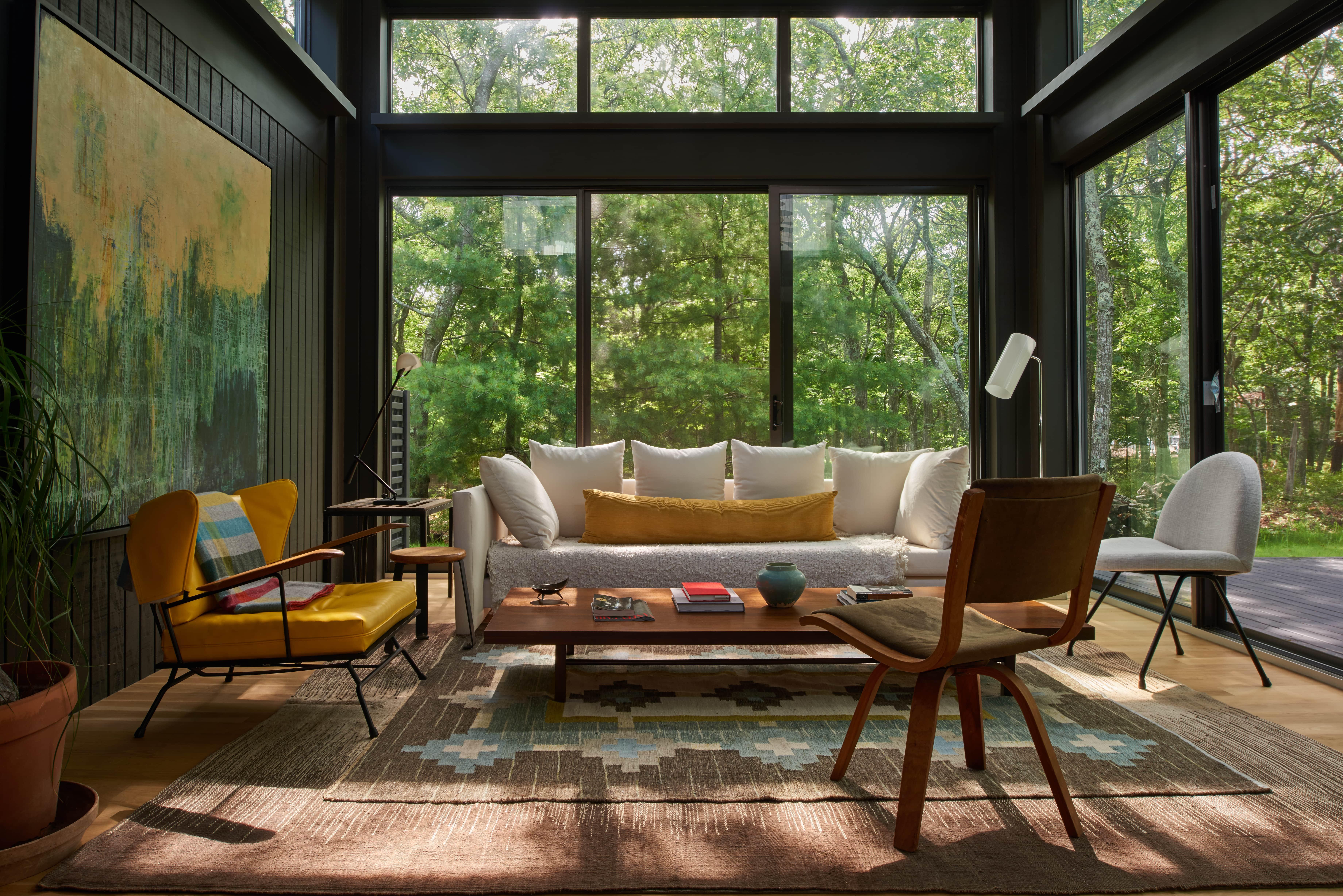 East Hampton House Living Room