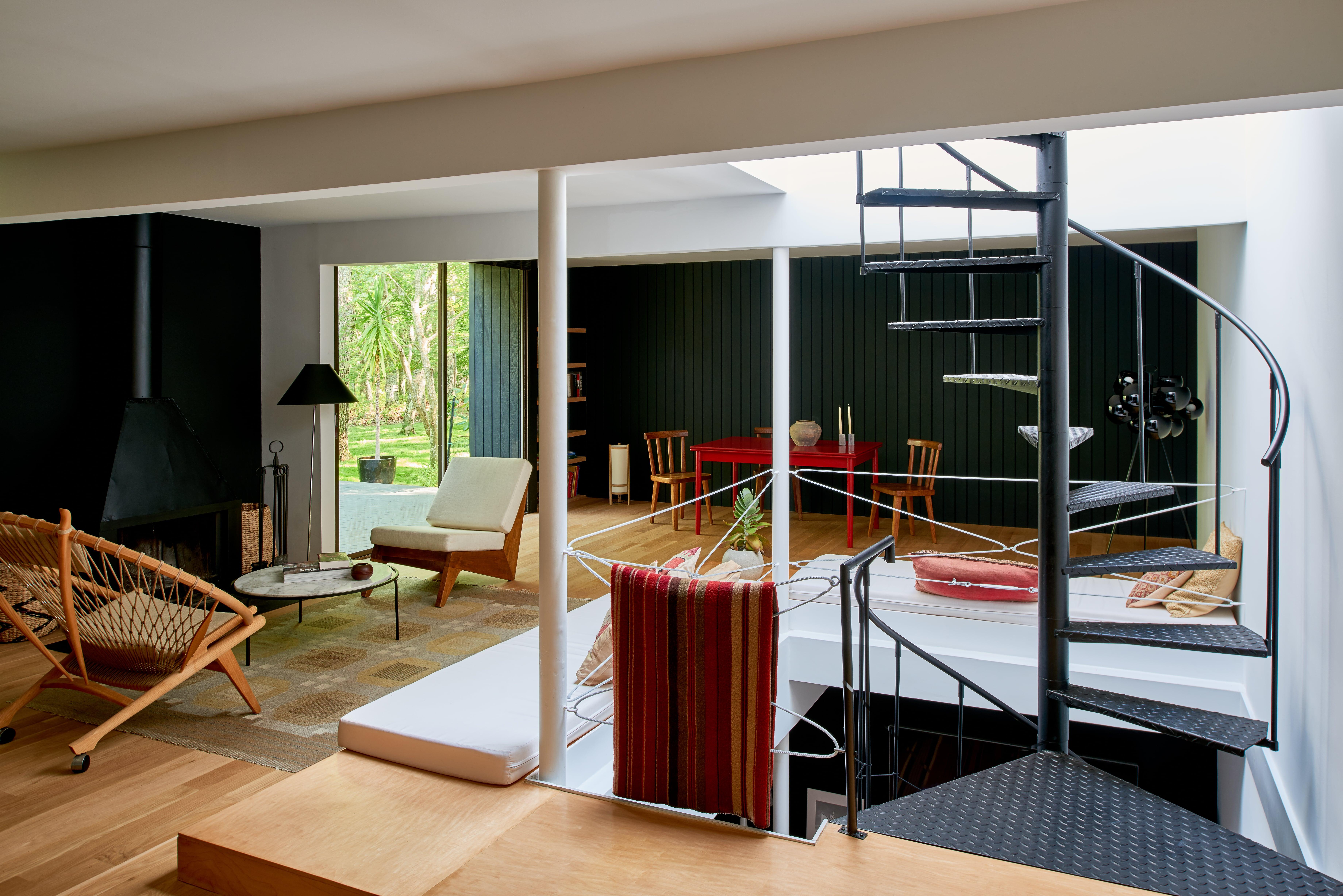 East Hampton House Living Space