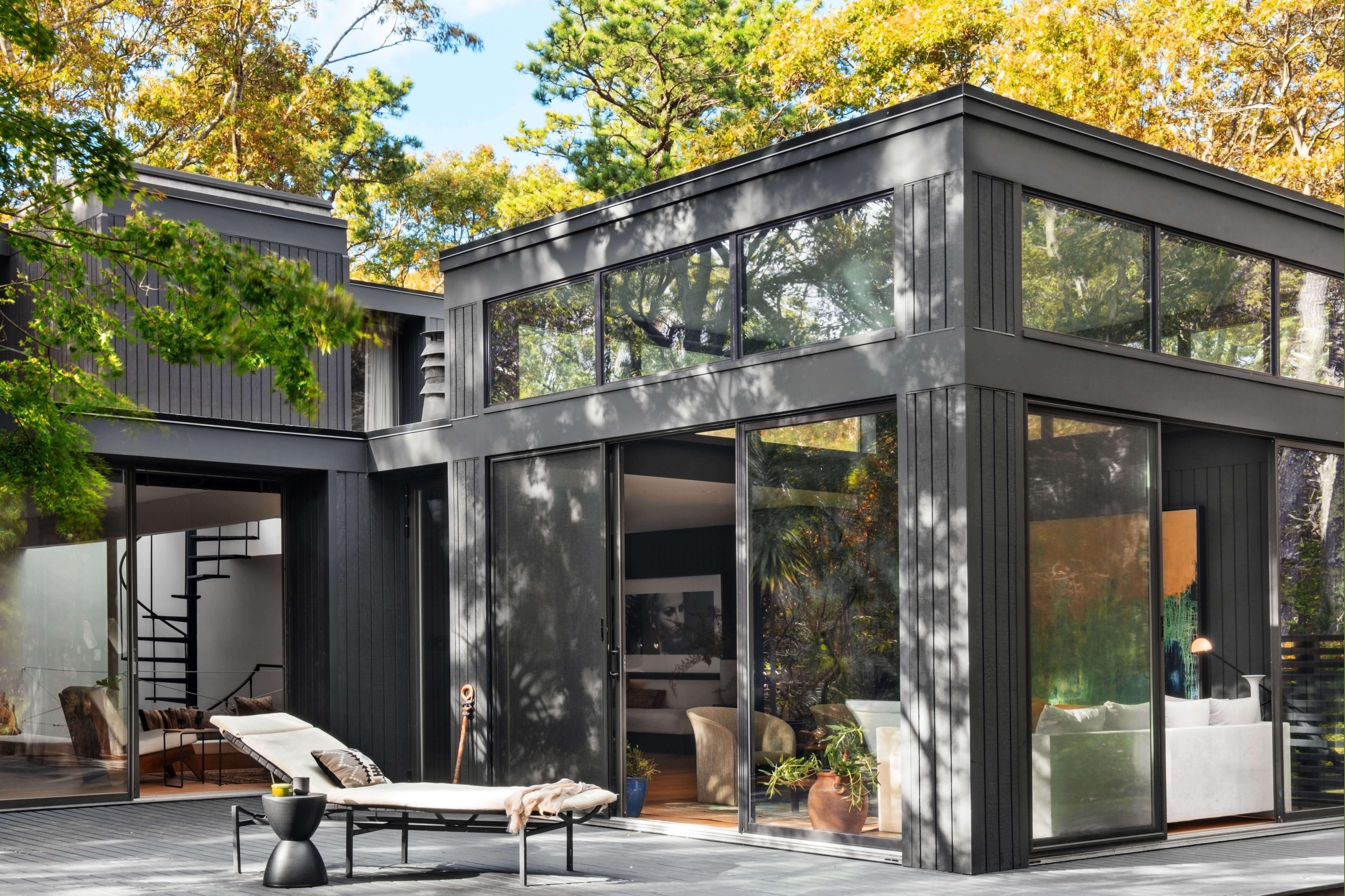 East Hampton House Porch