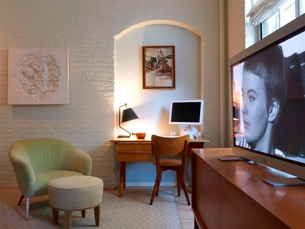 Tribeca Loft TV Area