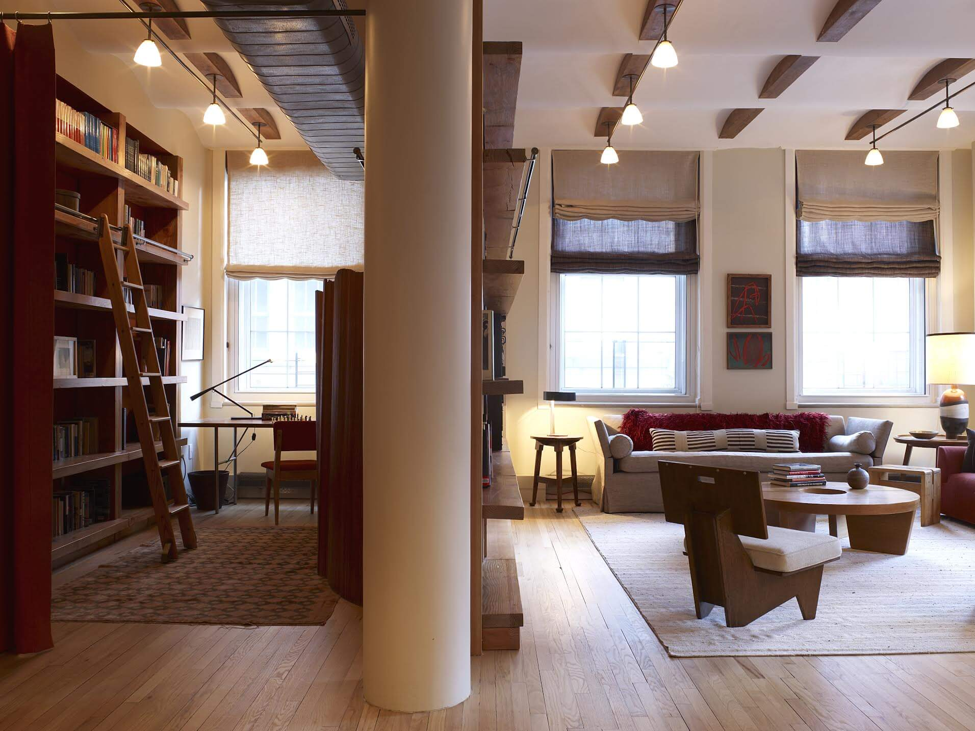 Tribeca Loft Living Space Shot 2