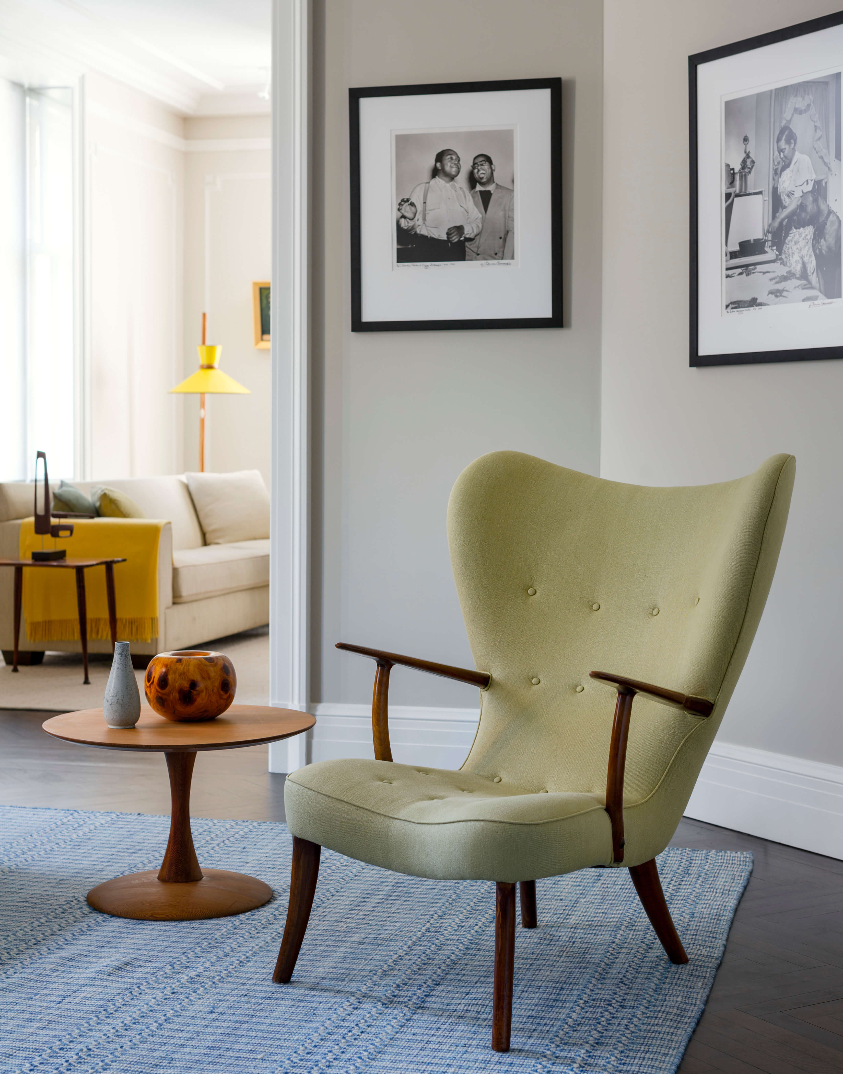 The Apthorp Green Chair