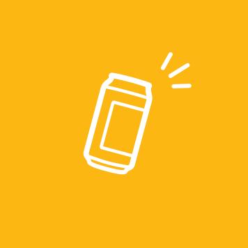 Illustration of a beverage can.