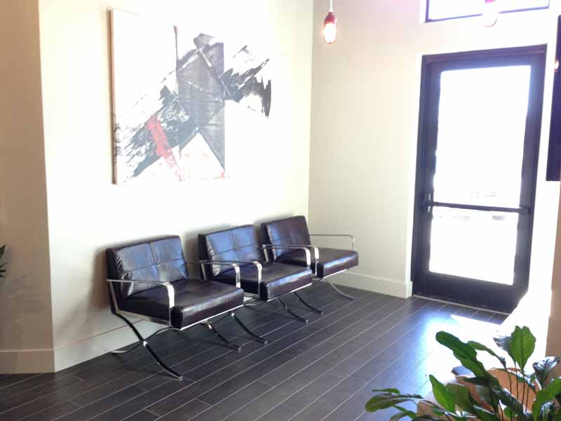 interior of flower mound endo
