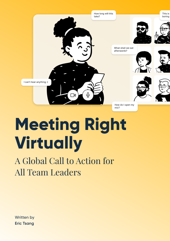 Meeting Right Virtually Cover Image