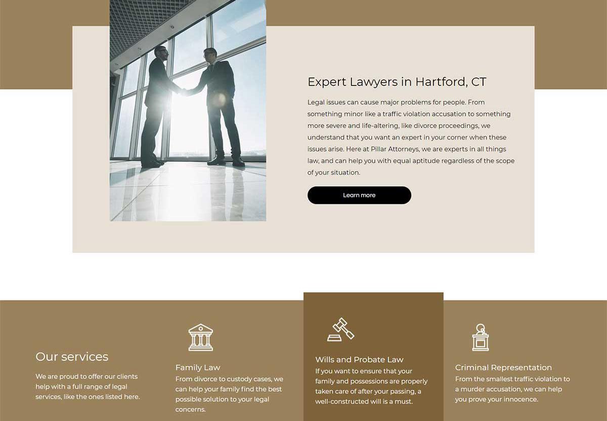 Spotzer Agency Showcase - Lawyer