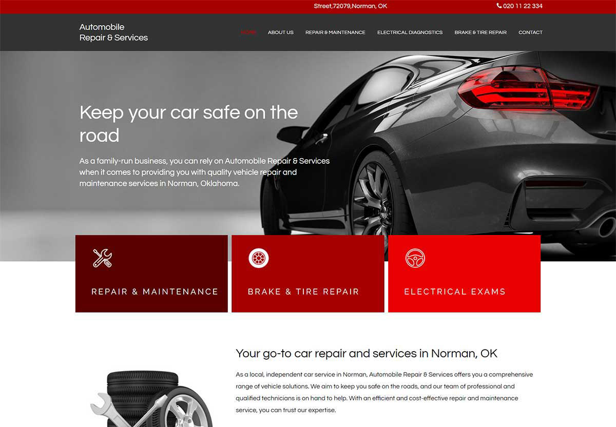 Spotzer Agency Showcase - Auto Repair