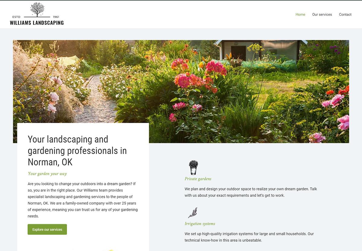 Spotzer Agency Showcase - Landscape Gardening