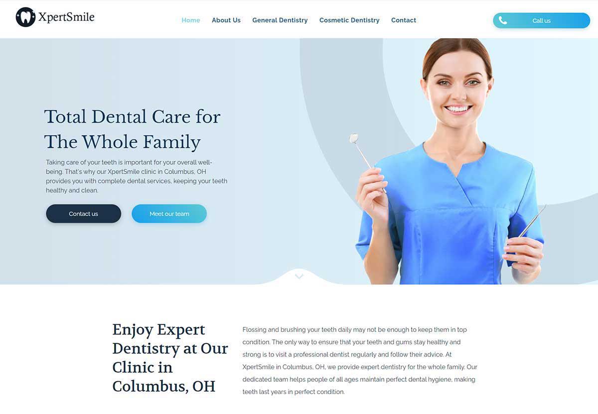 Spotzer Agency Showcase - Dentist