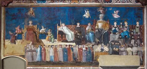 »Allegorie der guten Regierung« von Ambrogio Lorenzetti