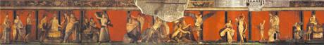 Die Fresken der Villa dei Misteri in Pompeji