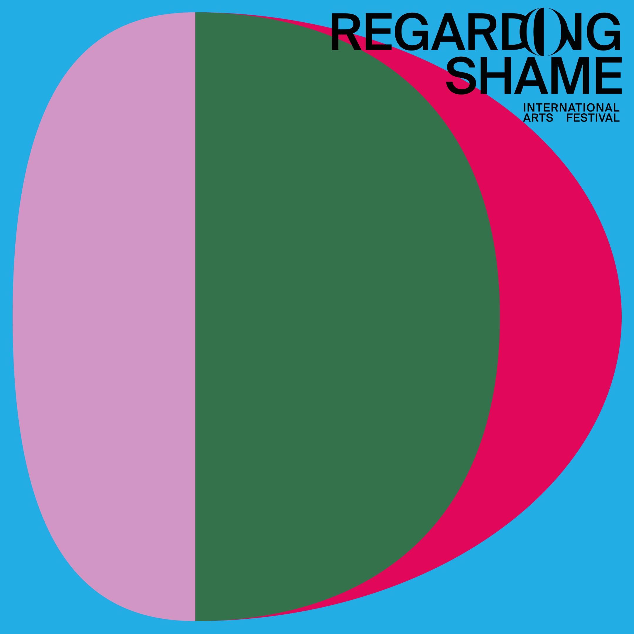 Regarding…  Shame  International Arts Festival —cover art