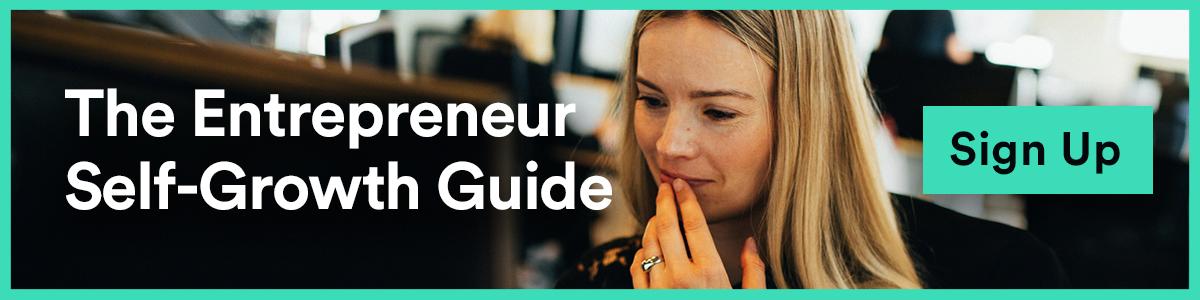 The Entrepreneur Self-Growth Guide