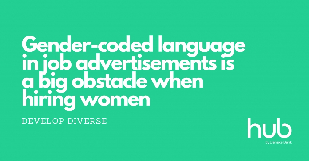 Gender coded language in job ads