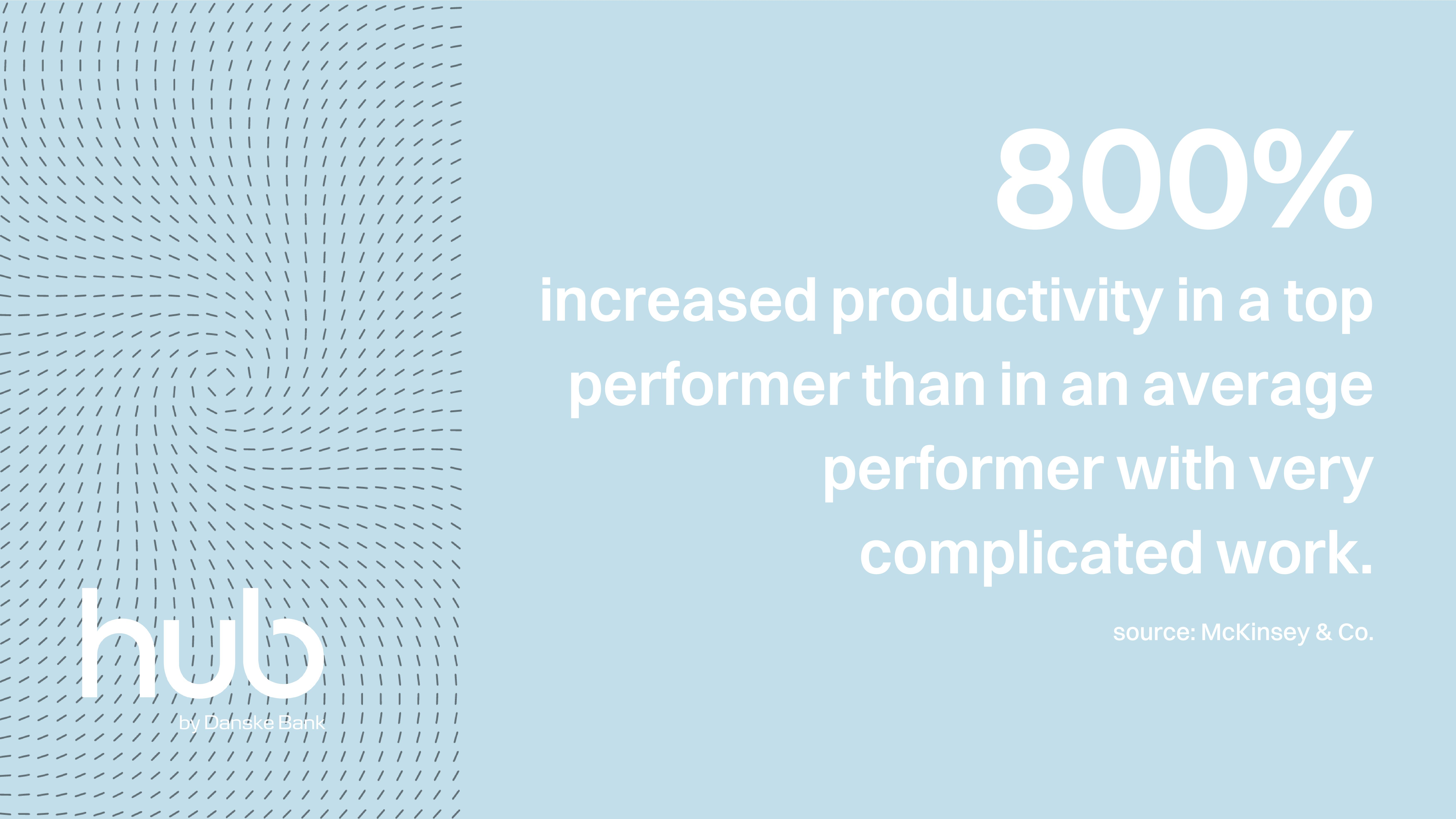 Productivity in a top performer