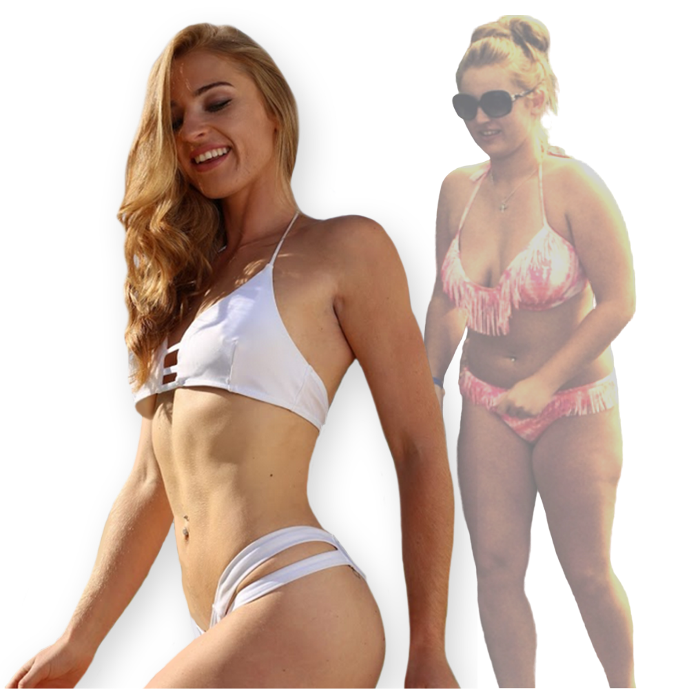 FitQueen transformation - Emily de Luzy