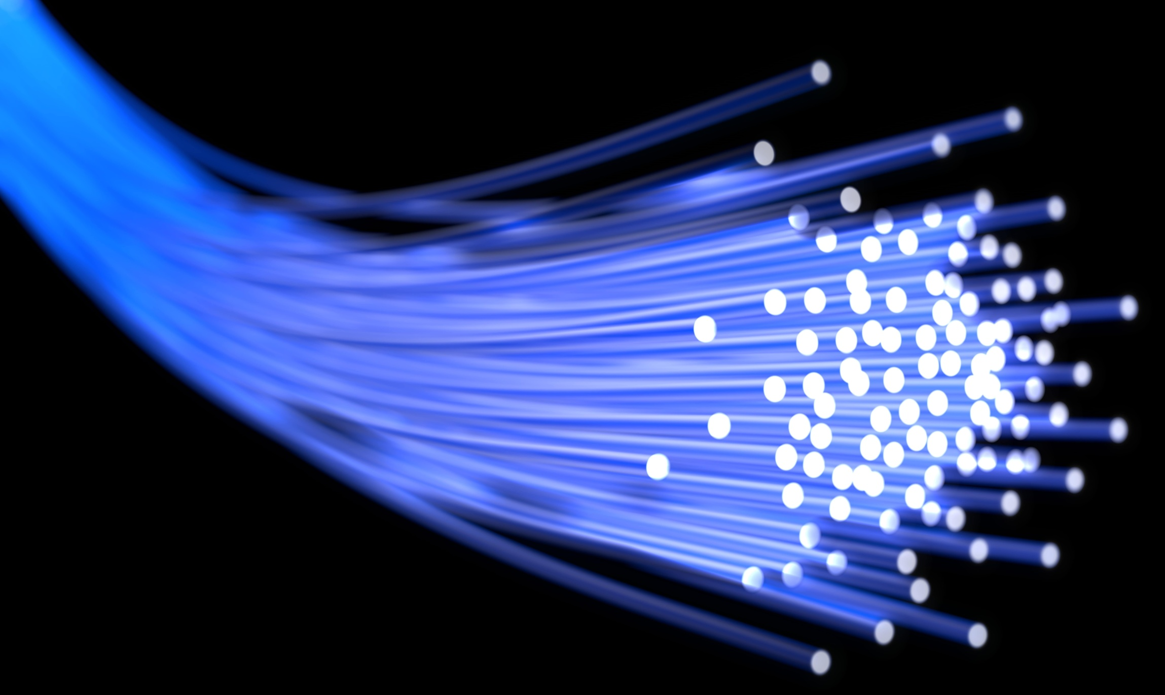 spliced fiber optic cable