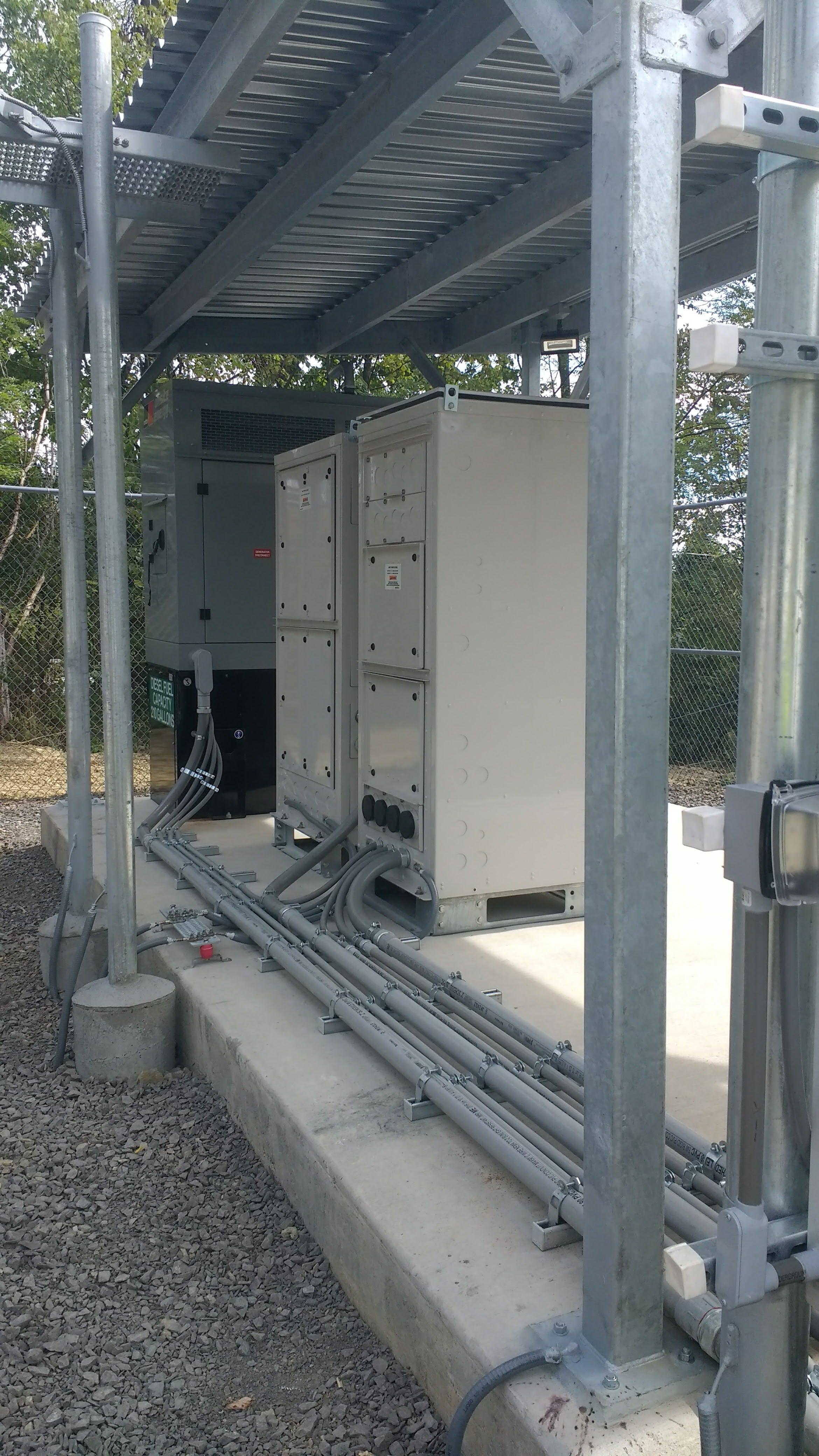 small equipment fiber optics project
