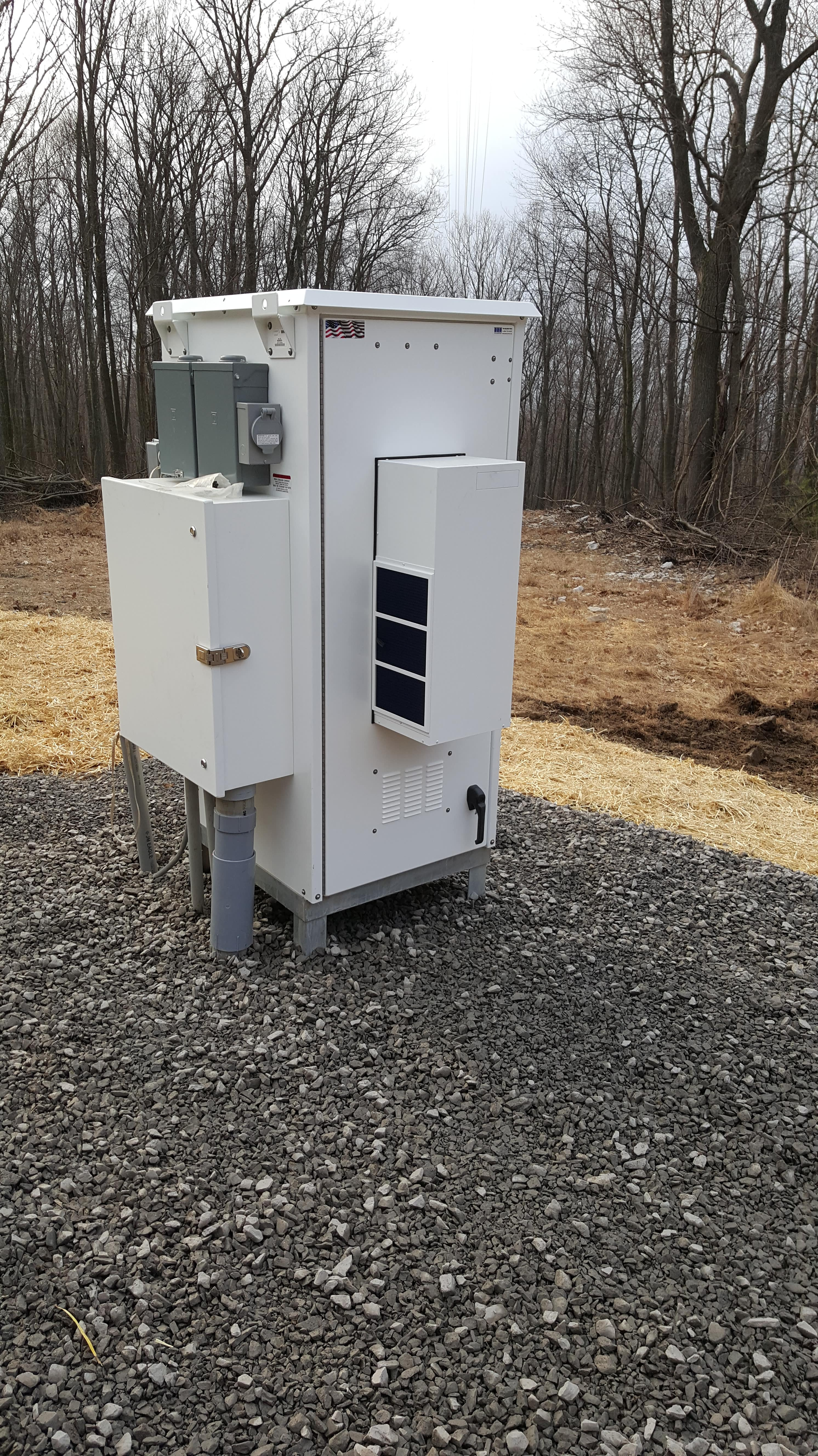 equipment installation project