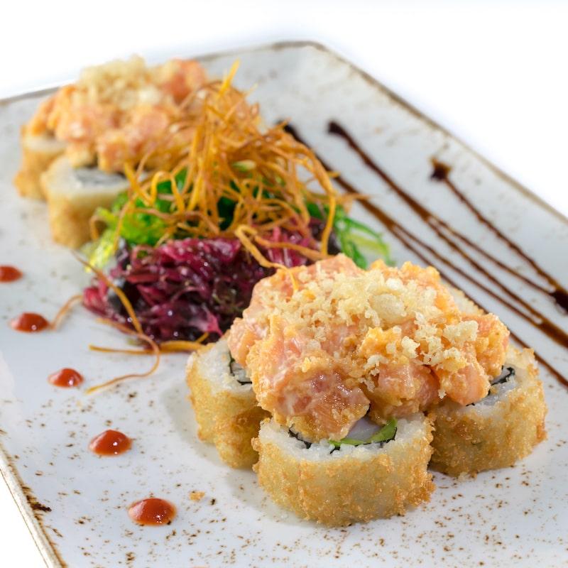 Kraki Maki - shrimp, avocado, spicy salmon