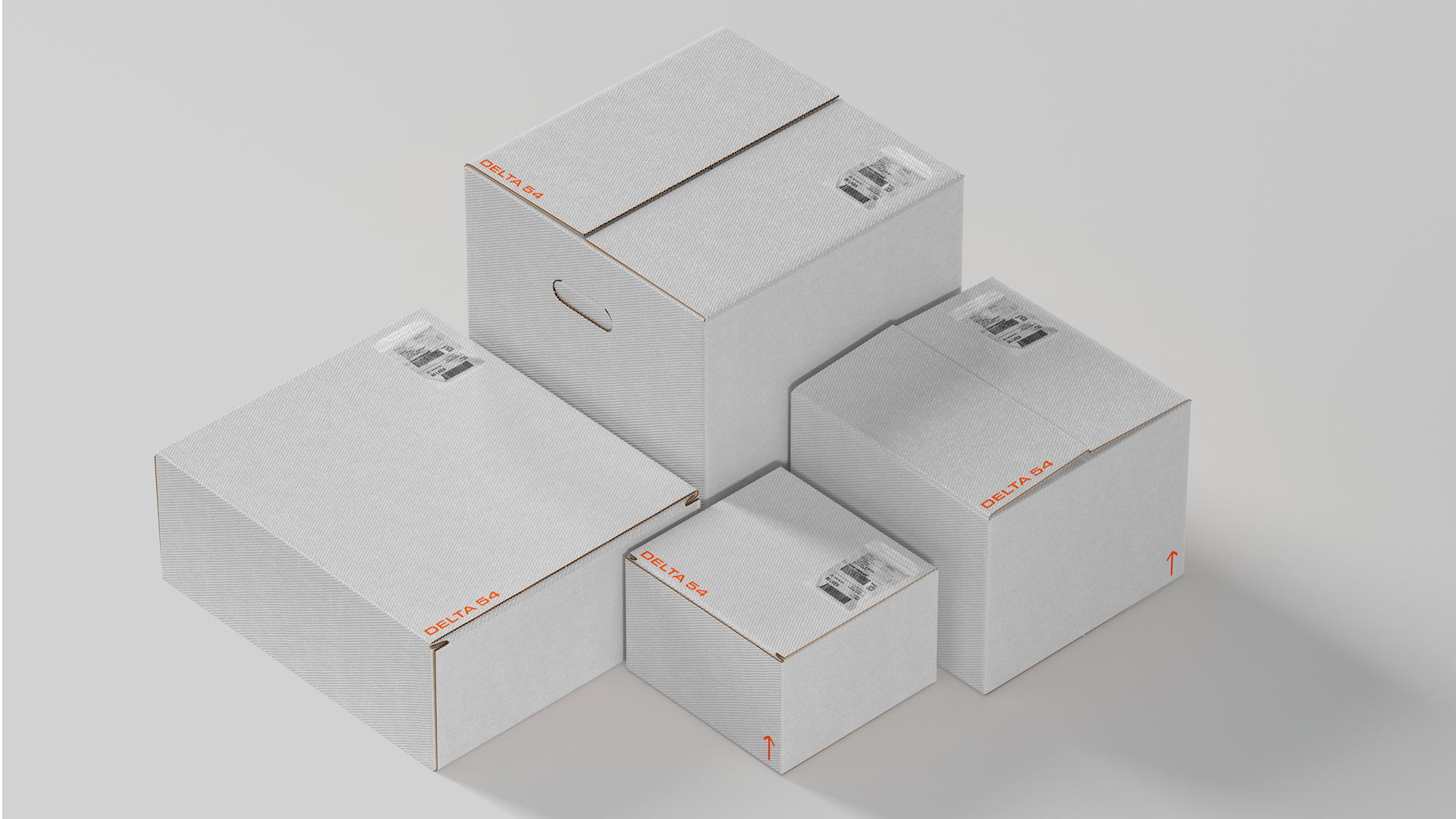 boxes mockup