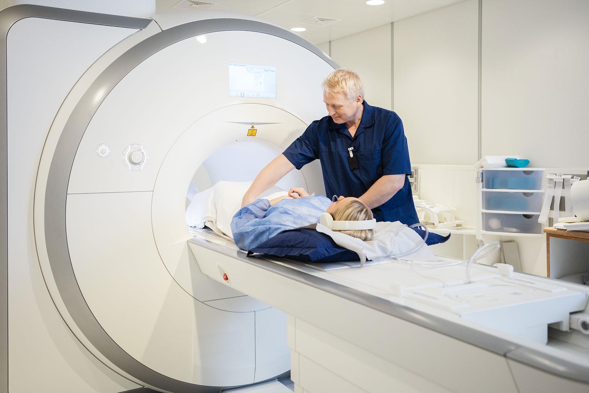 badanie rezonansem magnetycznym