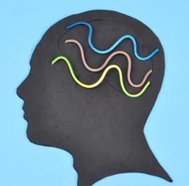 grafika głowy człowieka z myślami