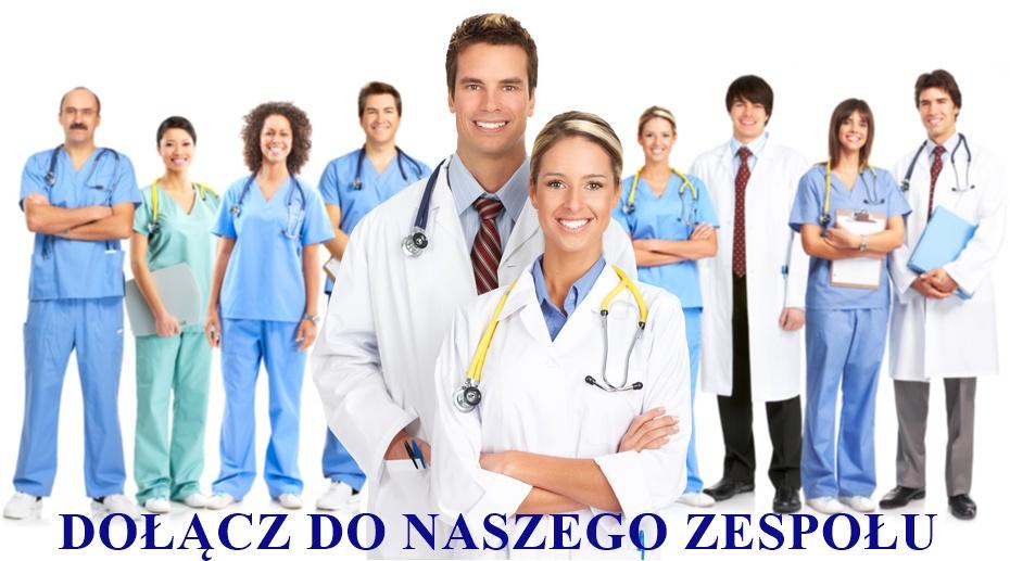 portret grupy lekarzy