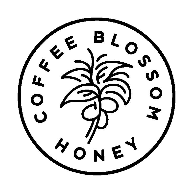 Coffee Blossom Honey Logo Mark.