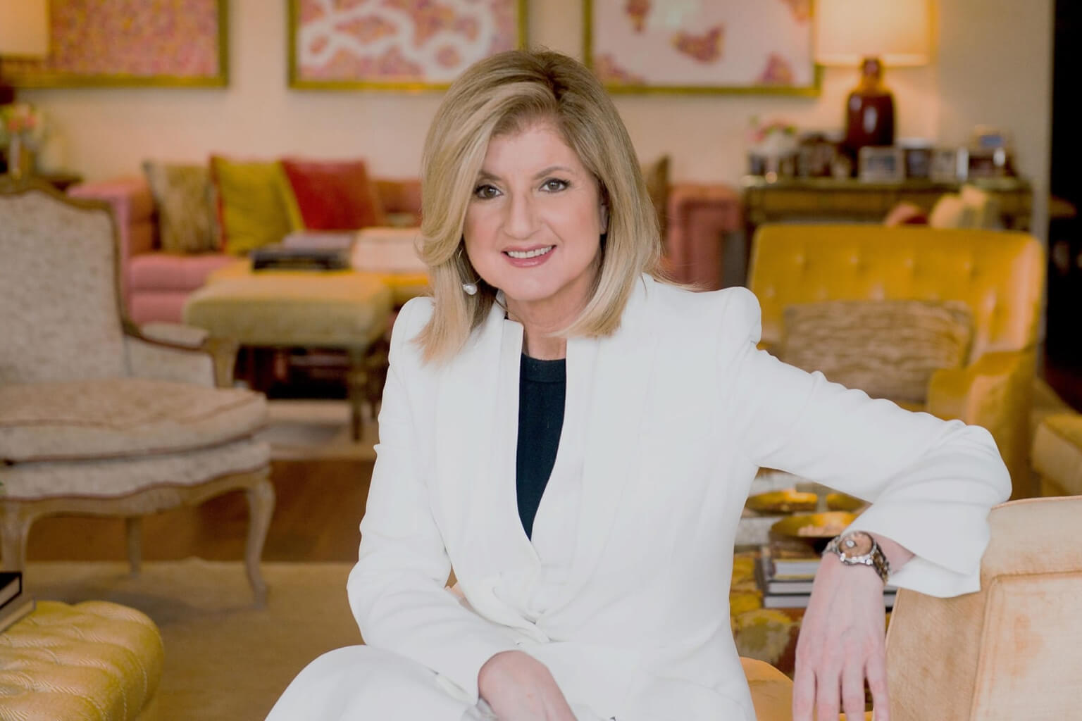 Habits and Routines of Entrepreneur and Author Arianna Huffington