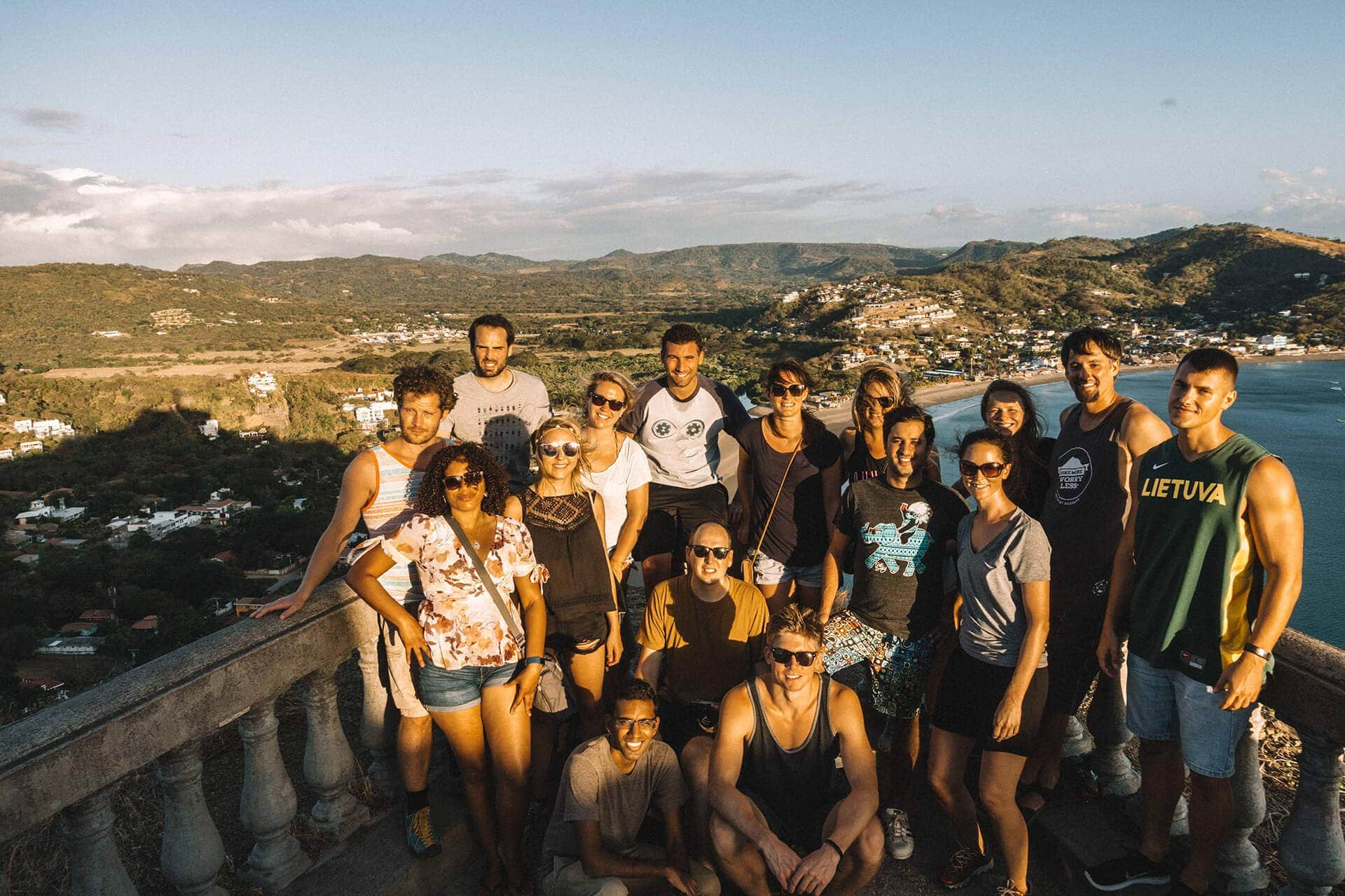 Exploring San Juan del Sur, Nicaragua with the WiFi Tribe.