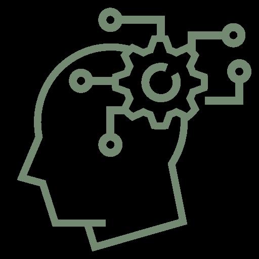 """Symbol zur visuellen Darstellung des Unternehmensbereiches """"Technical Work""""."""
