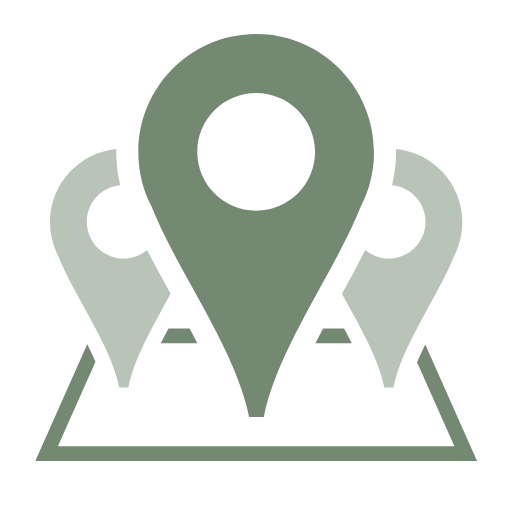"""Symbol dreier Karten-Pointer zur visuellen Darstellung des Stichwortes """"Work from anywhere""""."""