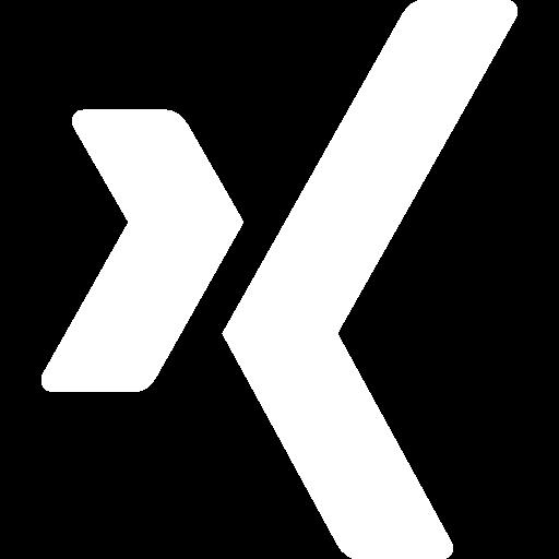 "Logo des sozialen Netzwerks ""Xing""."