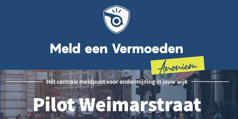 Gemeente Den Haag: Burgerpilot live in de Weimarstraat