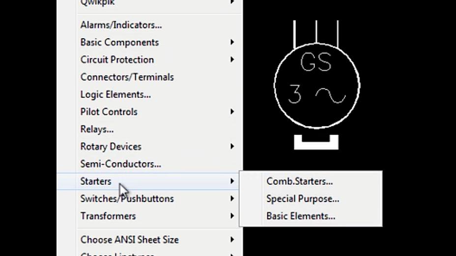 AutoCAD Electrical Symbols – ANSI & IEC Spec
