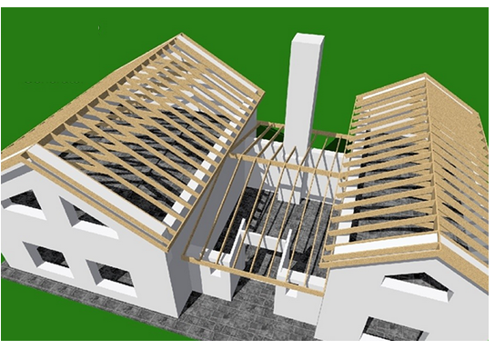 Roof framing generator for AutoCAD