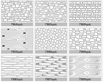 AutoCAD Hatch Patterns - contains 40+ patterns for AutoCAD & LT