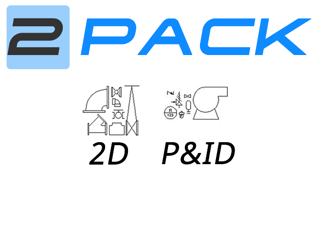Piping Blocks for AutoCAD / AutoCAD LT