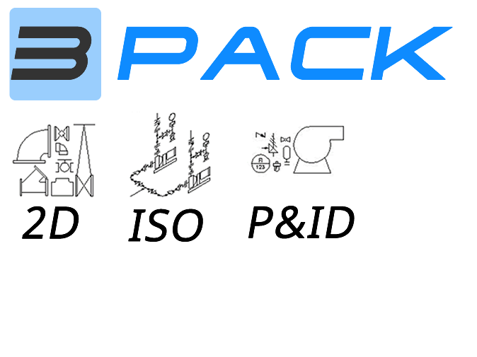 Create 2D Piping Schematics in AutoCAD