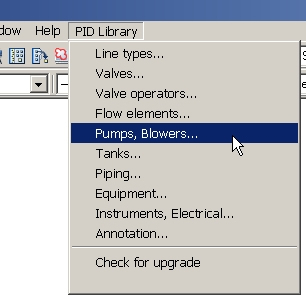 AutoCAD Symbols - the Pull Down Approach